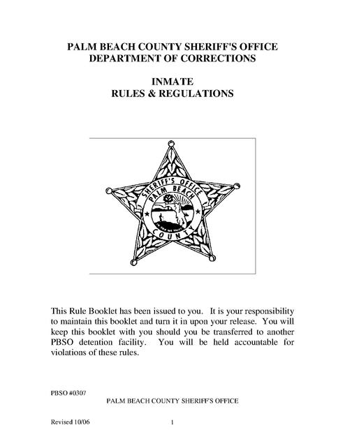 How To Email An Inmate In Palm Beach County Jail