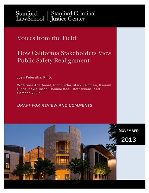 Voices from the Field - How CA Stakeholders View Public
