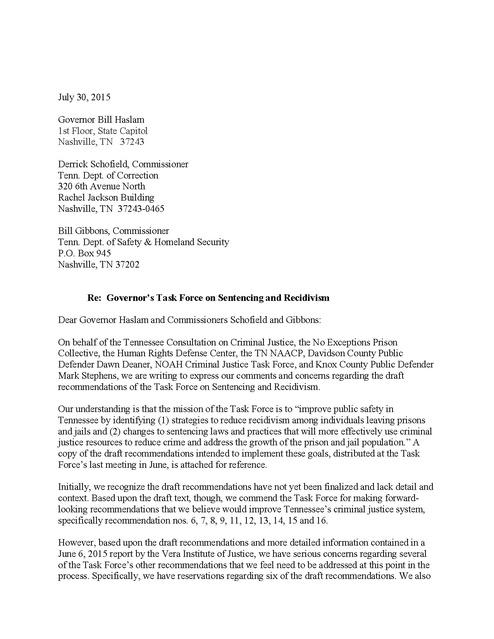 Sample Letter Of Incarceration