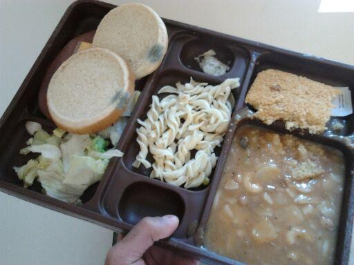 Moldy bread at CCA prison in Mississippi 2014