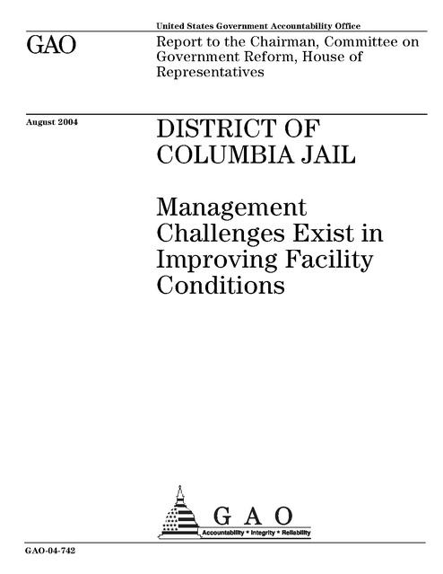 Us Gao Dc Jail 2004 | Prison Legal News