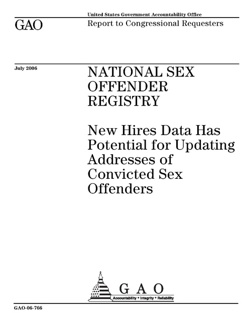 National sex offender registery complete download