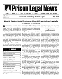 May, 2019 Issue | Prison Legal News