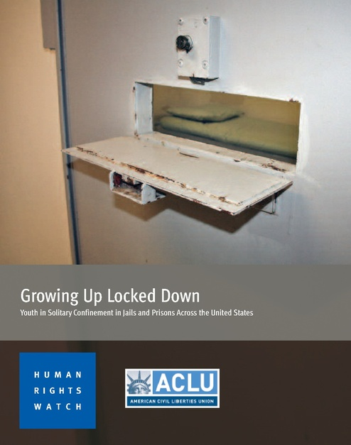 Juveniles in Solitary Confinement, Human Rights Watch, 2012