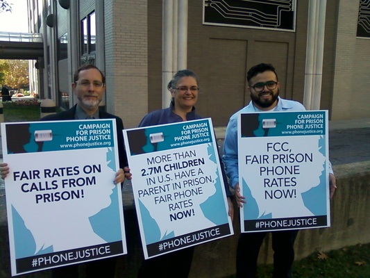 Advocates for Prison Phone Justice, FCC, 2015