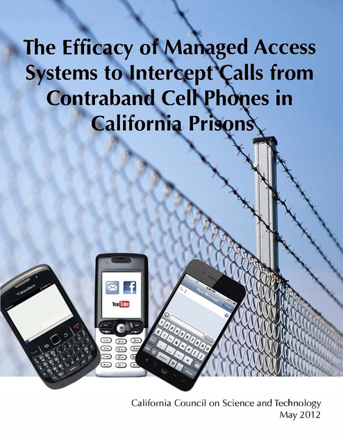 Systems to Intercept Calls from Contraband Cell Phones in