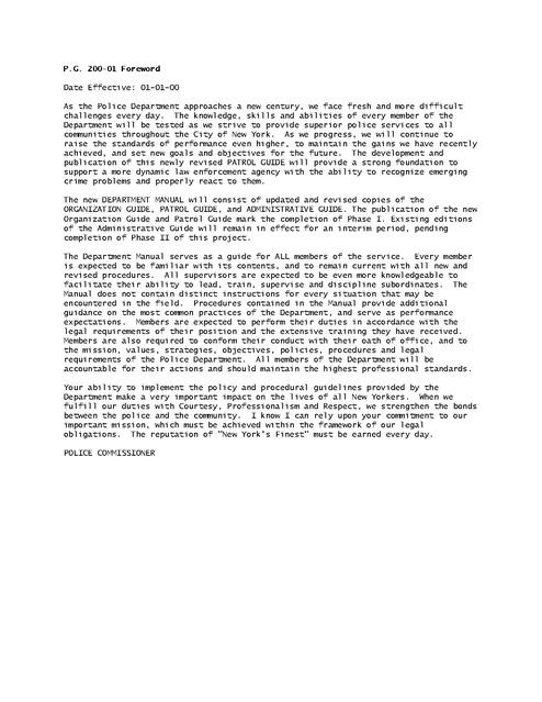 nypd patrol guide 2005 pdf prison legal news rh prisonlegalnews org nypd administrative guide pdf nypd administrative guide 319-14