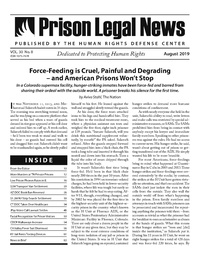 August, 2019 Issue | Prison Legal News