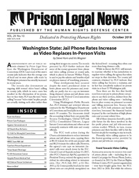 October, 2018 Issue | Prison Legal News