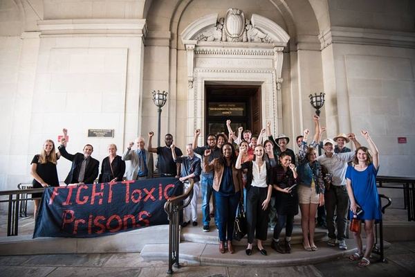 DC Convergence on Toxic Prisons, 2016