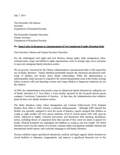 Immigration Letter Of Support For A Family Member from www.prisonlegalnews.org