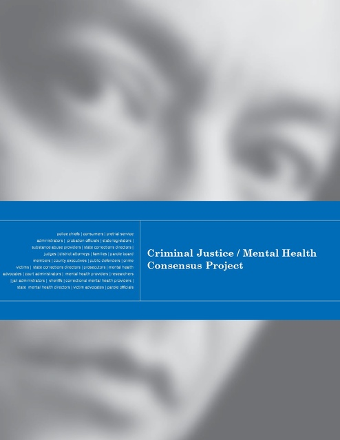 Council of State Governments - Criminal Justice Mental