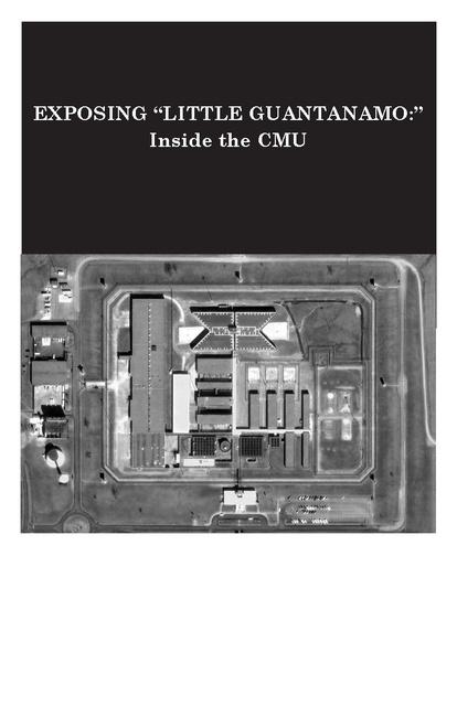 Mcgowan Exposing Little Guantanamo Cmu Report 2009 Prison Legal News