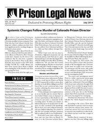 July, 2014 Issue | Prison Legal News